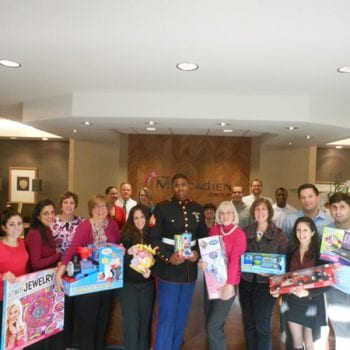The Mercadien Group Continues Long-Time Toys for Tots Holiday Tradition