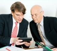 Businessmen Conversing