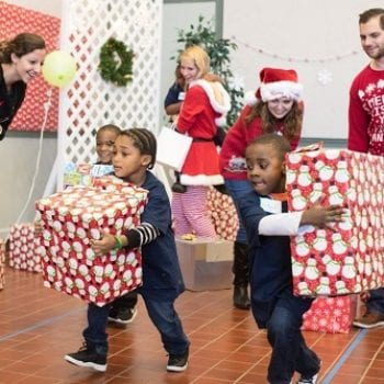 Mercadien's Community Service Brings Holiday Fun to the Young