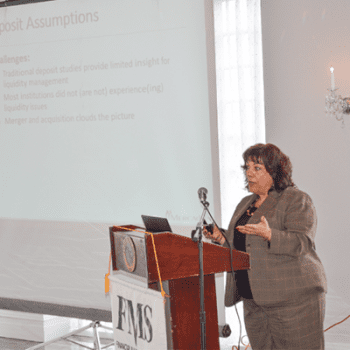 Lisa Thouin Presents on Liquidity Risk Management at FMS NY/NJ & NJBankers Assoc. CFO Conf.