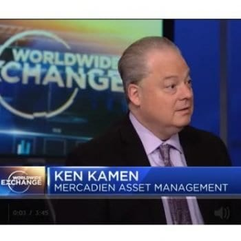 Mercadien's Ken Kamen Featured on CNBC Worldwide Exchange