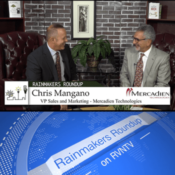 Chris Mangano Featured Guest on RVNTV's Rainmakers Roundup